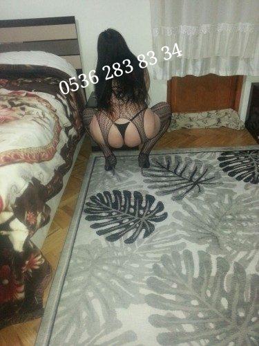 Seksi otelde buluşan escort Nilsu